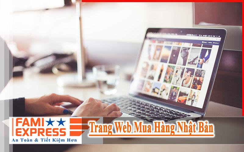 Trang web mua hang Nhat Ban