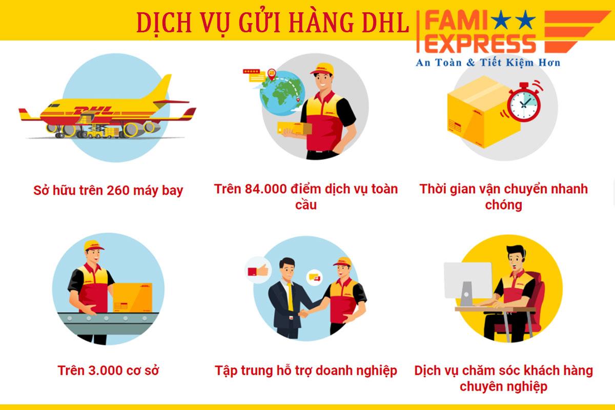 Nhung ly do chon gui hang DHL Famiexpress