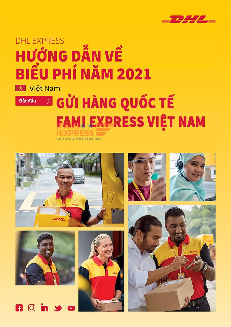 Huong dan ve bieu phi DHL 2021