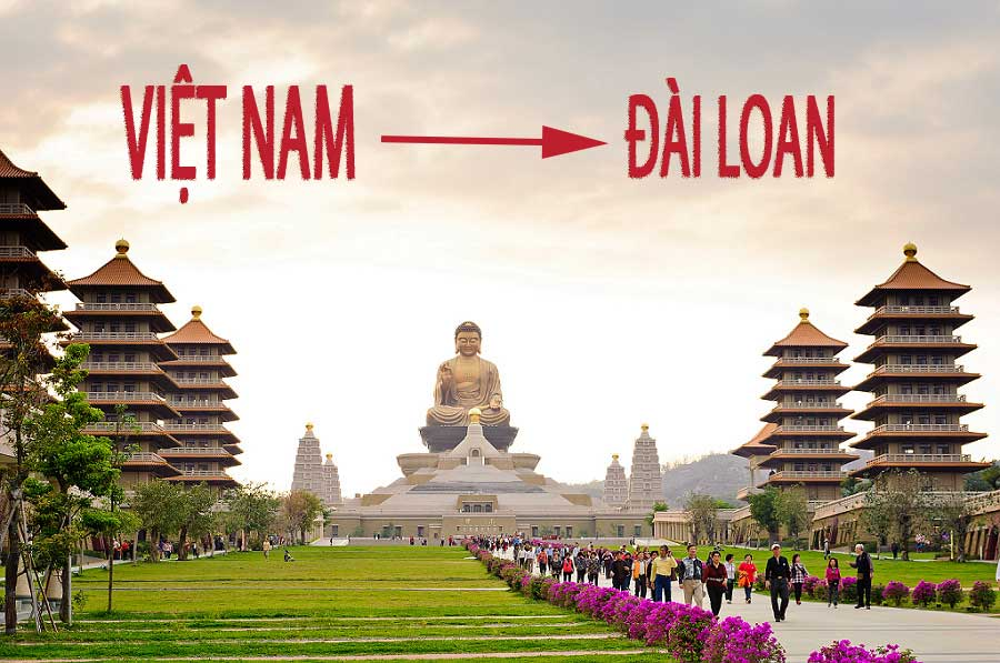 bay tu Viet Nam sang Dai Loan mat bao lau