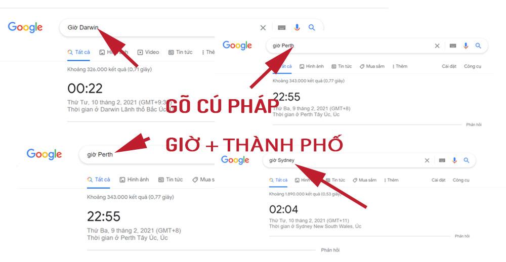 xem gio uc nhanh nhat o google