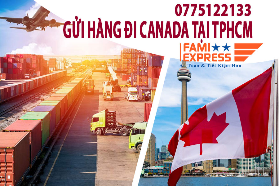 Gui hang di Canada tai tpHCM
