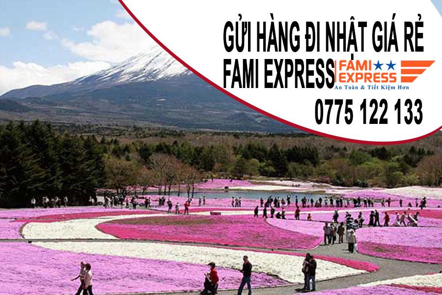 Gui hang di nhat gia re nhat tai Fami Express