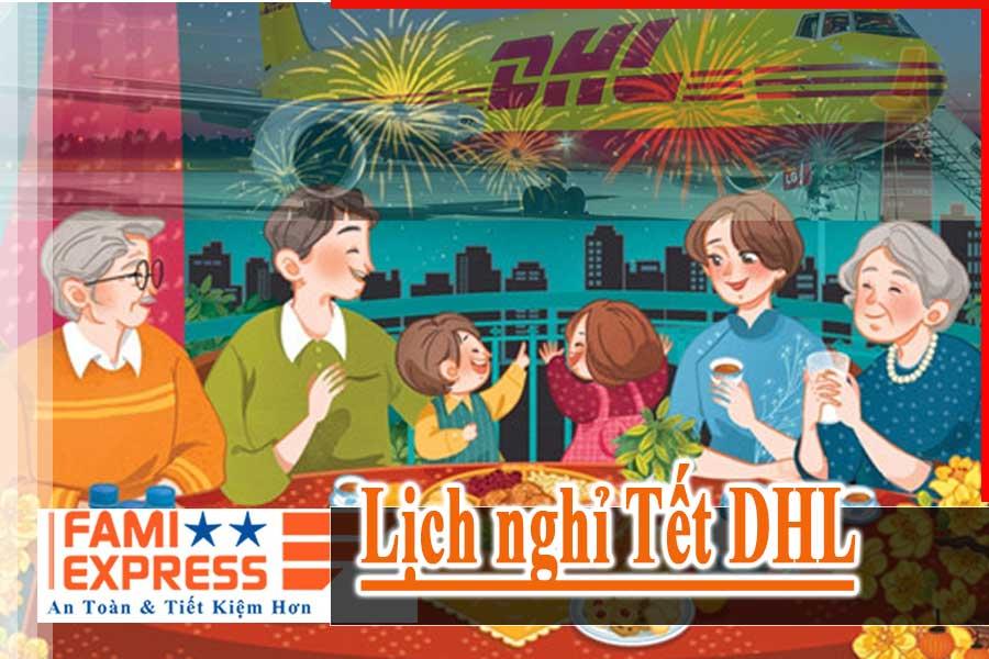 Lịch nghỉ Tết DHL